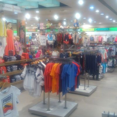 Retail store of children's wear