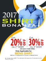 Discount on branded shirt